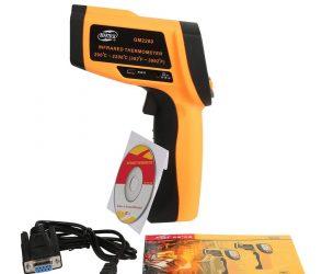 راهنمای فارسی دماسنج ، ترمومتر لیزری BENETECH GM2200