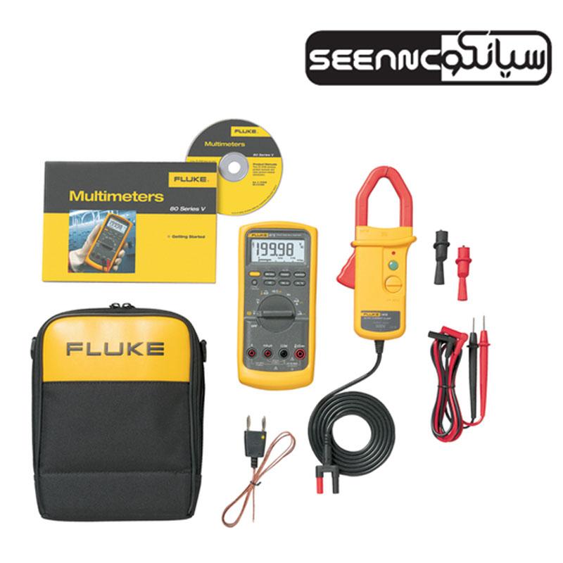 کیت مولتی متر دیجیتال صنعتی فلوک Fluke 87V/i410 Combo Kit