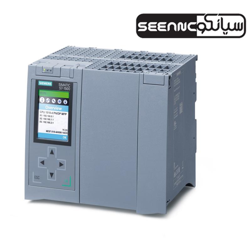 پی ال سی زیمنس SIMATIC-S7-1500-CPU-1518-4-PN-DP-MFP-SEEANCO