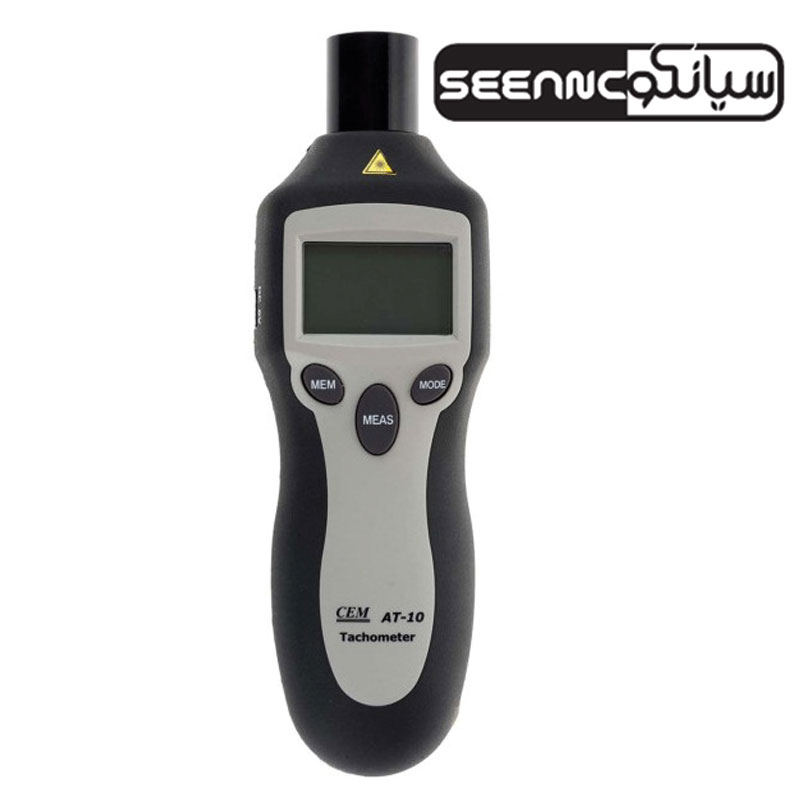 تاکومتر نوری و مکانیکی دیجیتال مدل CEM AT-10
