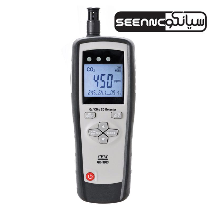 آنالایزر گاز دیجیتالی سی ای ام CEM GD-3803