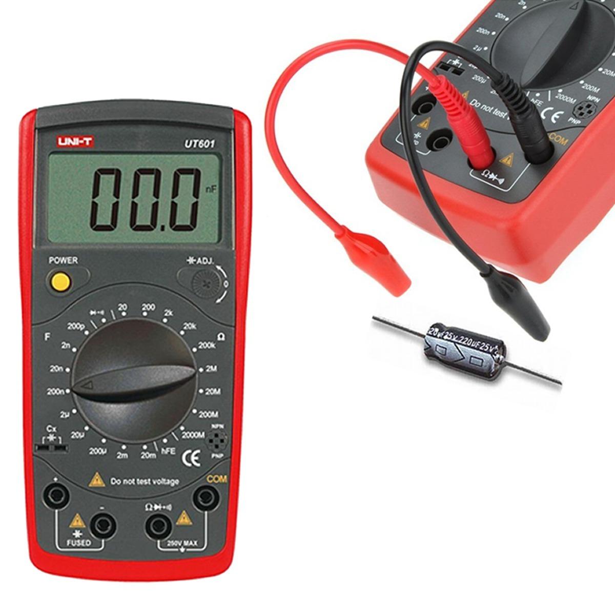 دستگاهخازن-سنج-(LCR-متر)-دیجیتالی-یونیتی-مدل-UNI-T-UT-601