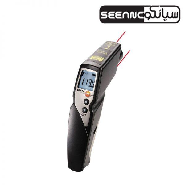 ترمومتر لیزری صنعتی تستو آلمان Testo 830-T4
